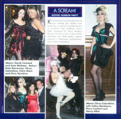 Chrys Columbine Burlesque Star in OK! Magazine cut 400dpi